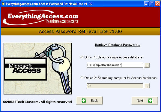 FREE Access Password Recovery